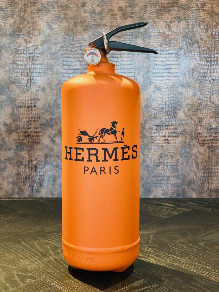 Ghost art Hermes Extinguisher