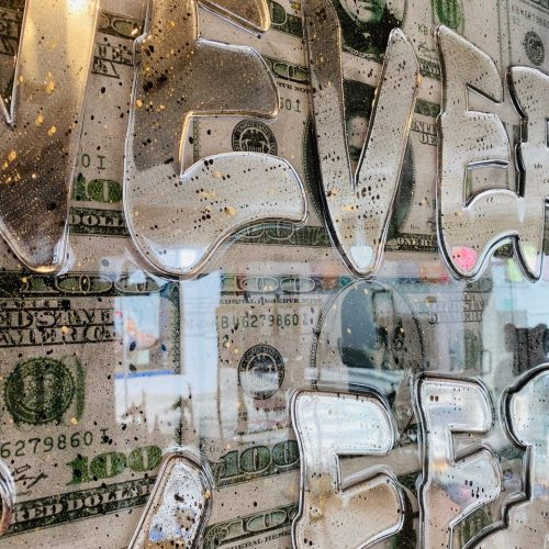 Ghost art Money never sleeps