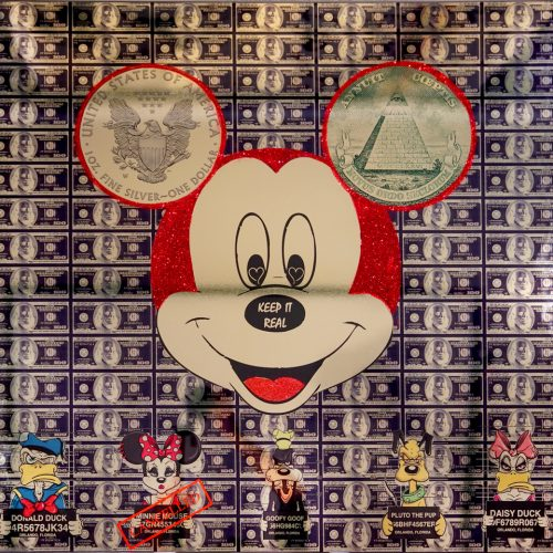 Van Apple Mickey Gold