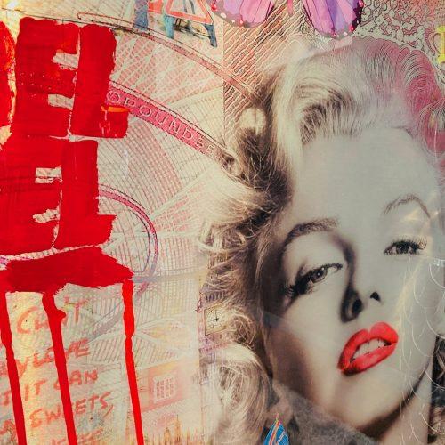 Van Apple Marilyn Monroe pond