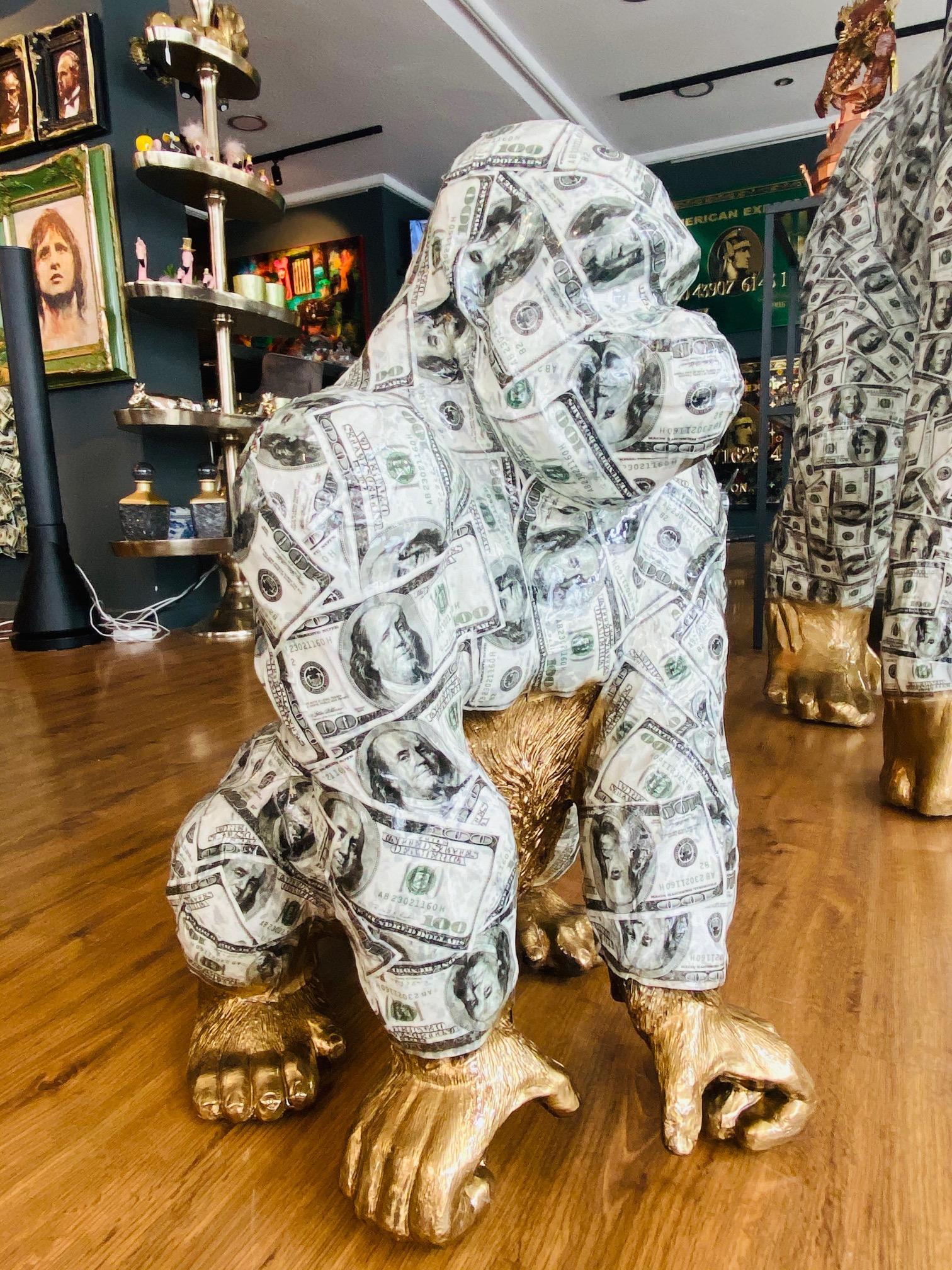 Ghost art Dollar baby gorilla
