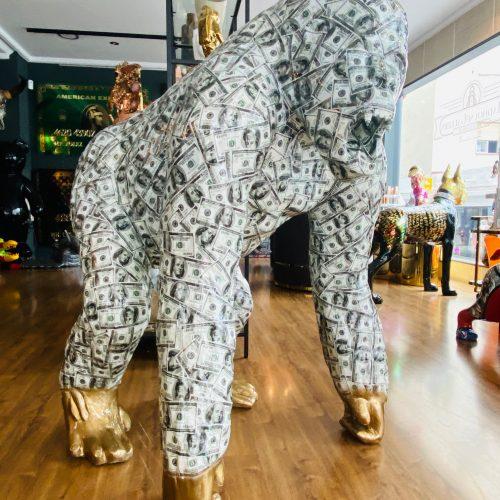 Ghost art Dollar gorilla
