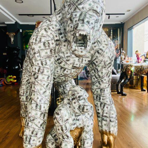 Ghost art Dollar gorilla set Mommy & baby
