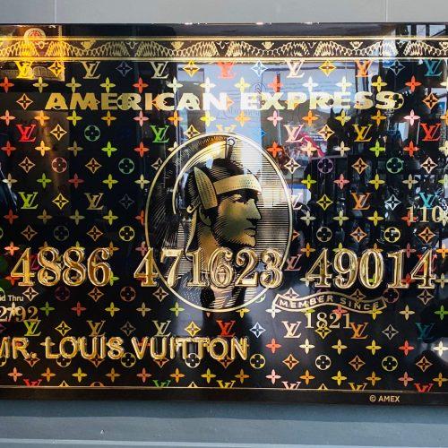 van Apple Louis vuitton creditcard